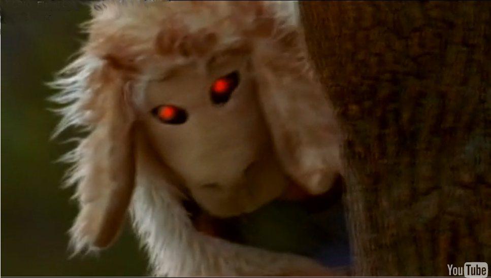Evil sheep - photo#10